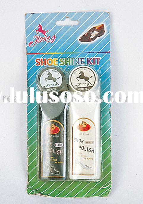 Shoe Shine Kit, Shoe Shine, Shoe Polish Kit, Shoe Polisher, Model:12161