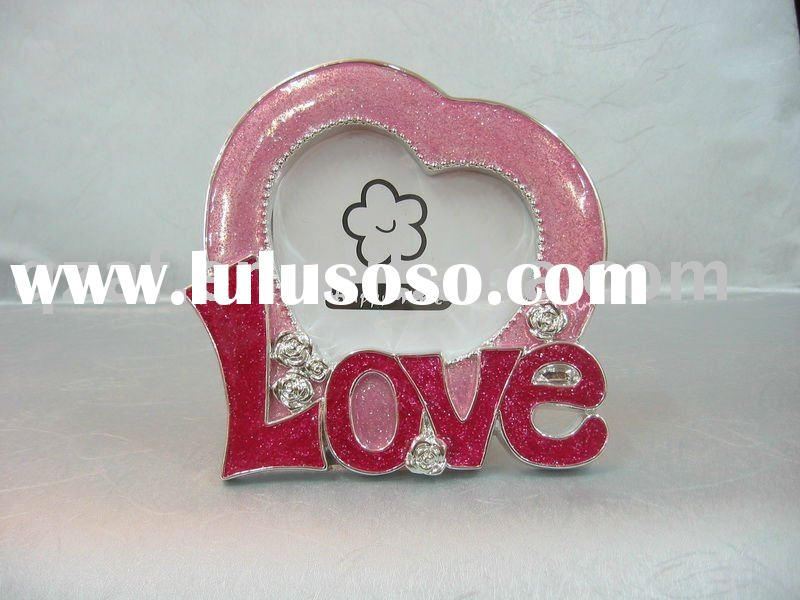Valentine's picture frame for wedding gifts
