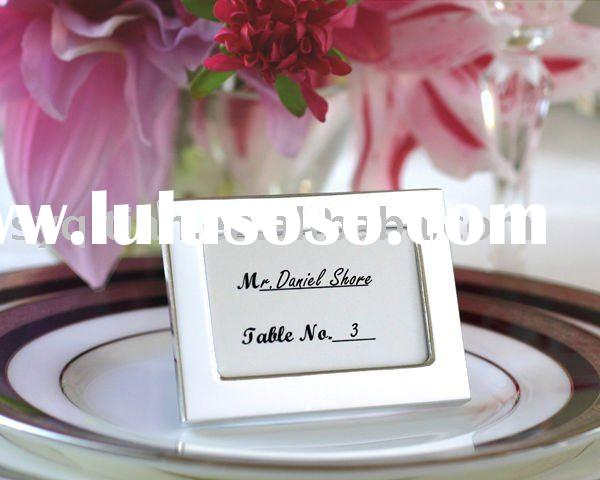 Wedding favor,wedding gift,wedding place card holder,mini photo frame-Memories by the Dozen - Set of