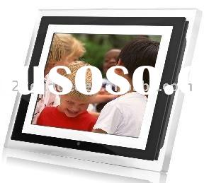 new 10.4 inch digital photo frame full function for picture review advertisement player