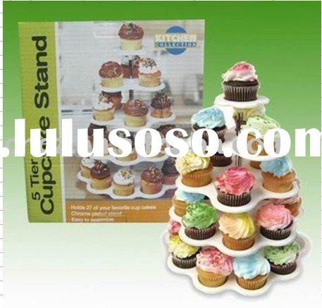 5 TIER CUPCAKE STAND/cupcak display stand/cupcake stand