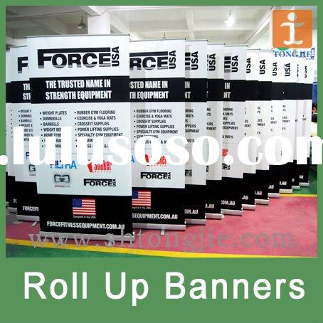Custom Roll Up Stand Banner At Ex-factory Price
