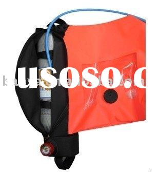 Emergency Escape Respirator, Breathing protective apparatus