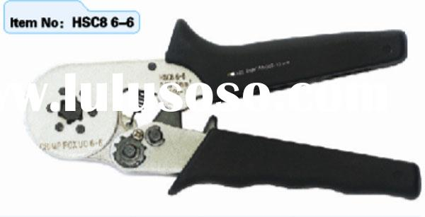 HSC8  6-6 self-adjusting crimping pliers for cable ferrules