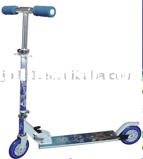 Kick Scooter for kids,Half Aluminium and Metal meterial,max load 80 KGS,Strong PVC wheels,high speed