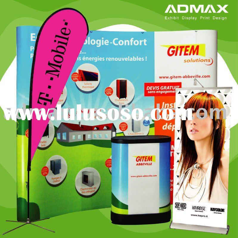 Roll up Banner Stand / Flying Banner/ Beach Flag / Pop up Backdrop / Counter Table for Exhibition an