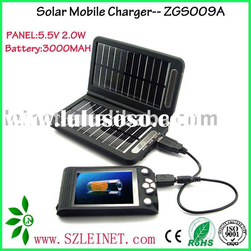 Solar Emergency Battery Charger with Multi-function