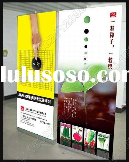 Vertical banner stands
