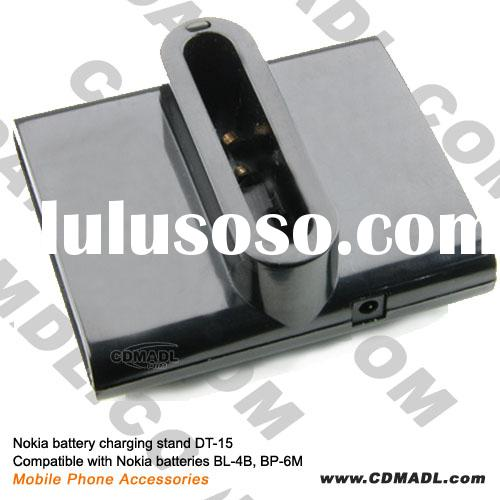 battery charging stand DT-15 Compatible with batteries BL-4B, BP-6M for Nokia