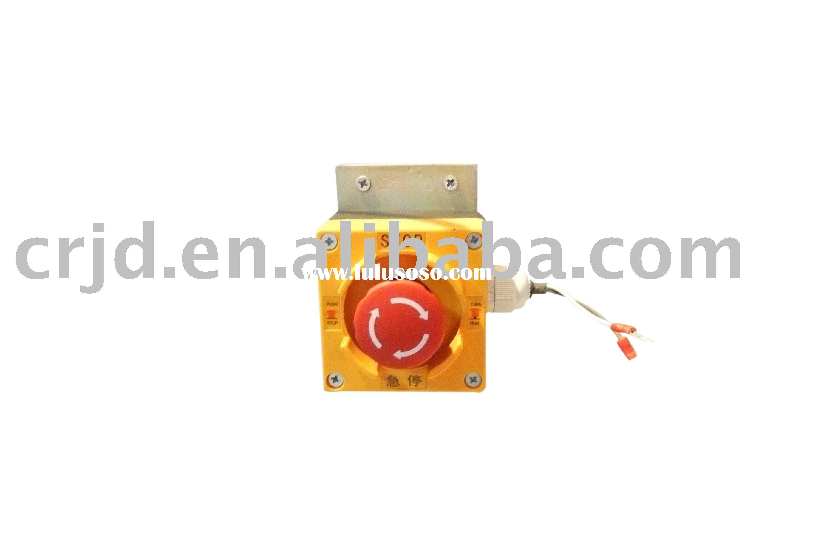 elevator emegence  box , elevator Switch Box of Emergency Stop ,elevator components ,elevator  parts
