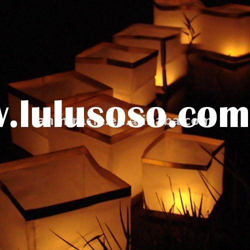 floating water paper  lantern wedding for celebration