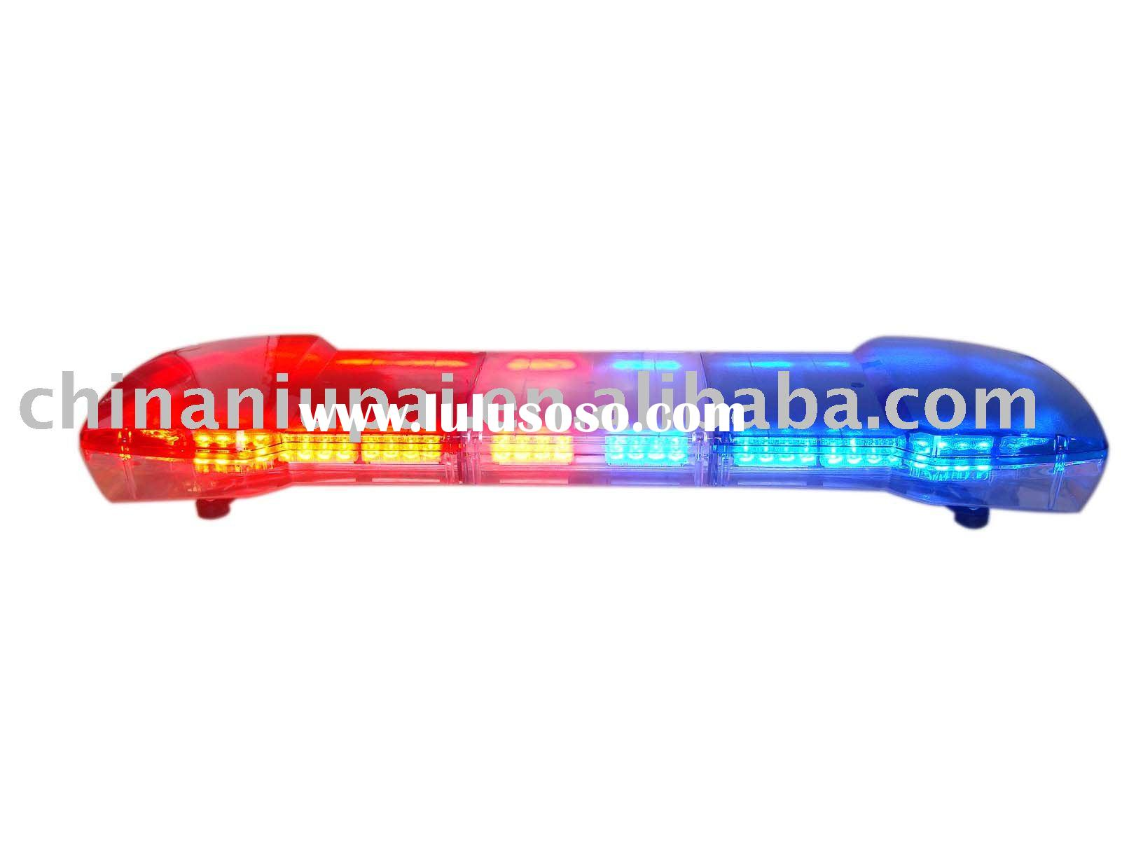 high power  led emergency light bar,police light bar