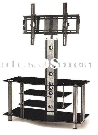 2010 BQ-TV028 Black TV Stand With Mount