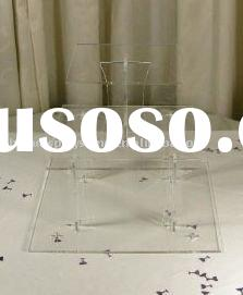 3 Tier Square Acrylic Cup Cake Stand