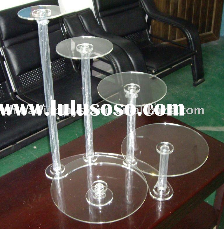 5 tier wedding cake stands