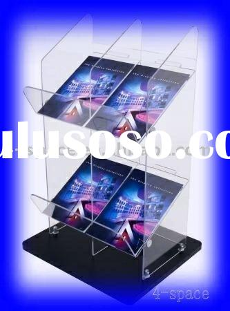 Acrylic Newspaper or Magazine Display Stand