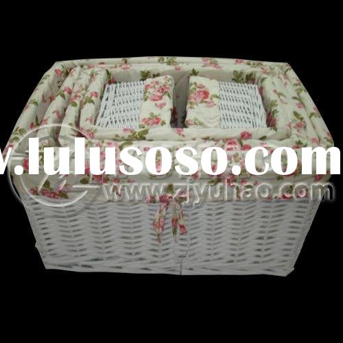 Beautiful Wicker gift Basket with Lid