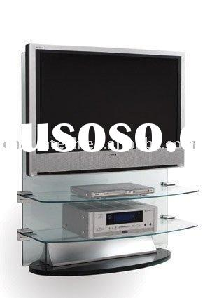 Flat Panel Glass TV Stand (CT-FTVS-203)
