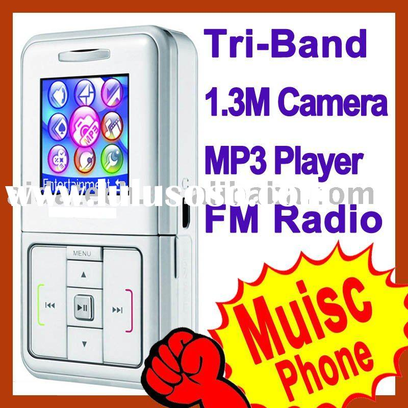 Original EF51 Three Band Music Mobile Phone Cell Phone Camera MP3 microSD T9