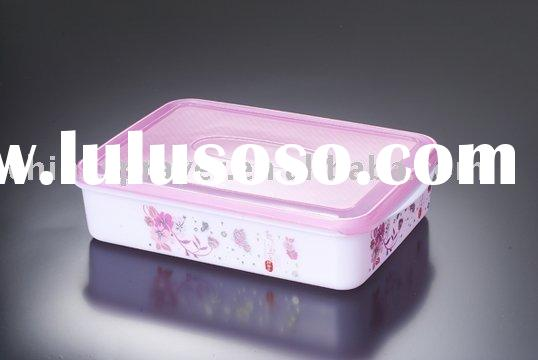Plastic Square Food Fresh Keeping Boxes