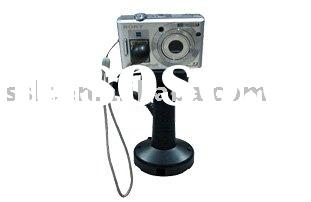 Secure display stand for digital camera