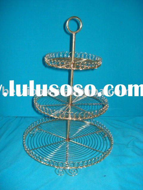 Three  Tier    Cake  Stand/ Metal  Craft/Home  Supplies