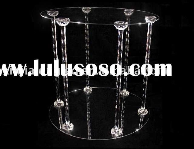 Unique Acrylic Cake Display Stand or Acrylic Cake Stand