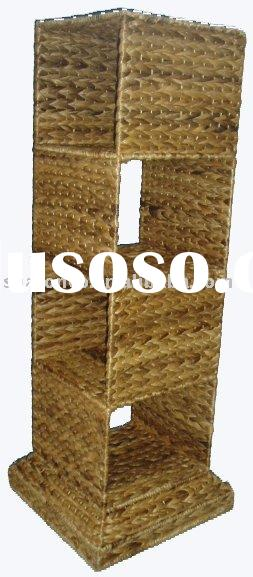Wicker storage basket made from banana leaf with new design