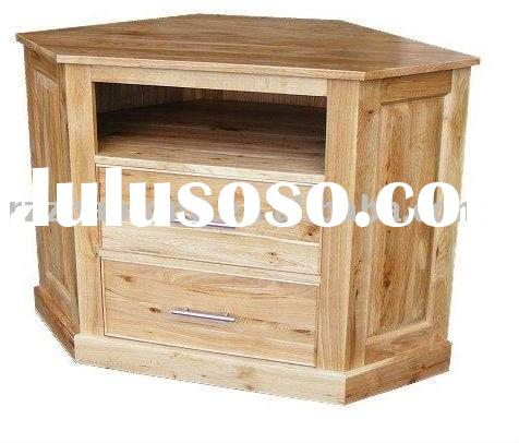 How To Build A Wood Corner Tv Stand