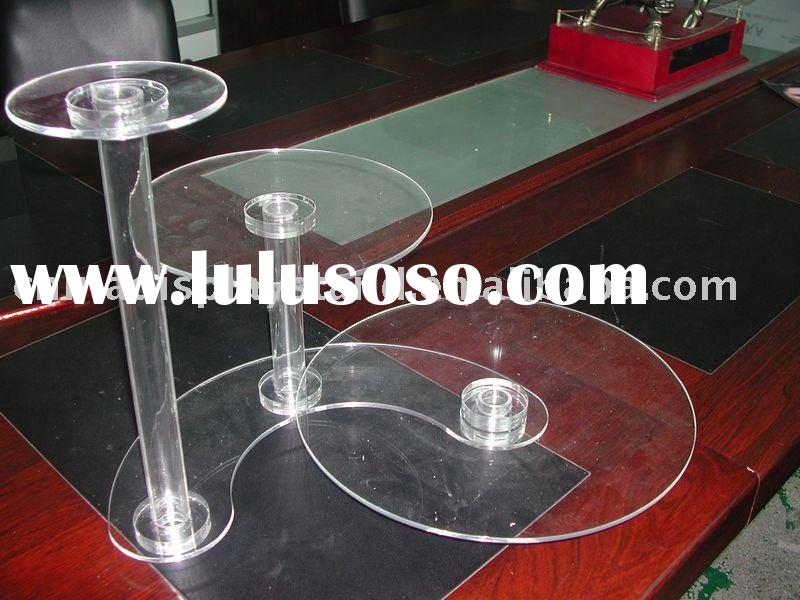 acrylic wedding cake stands
