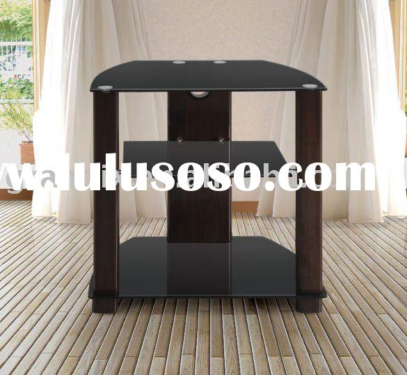 glass flat panel tv stand