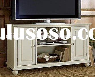 modern wood TV stand