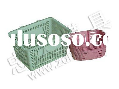 plastic laundry basket mould/round plastic basket mould