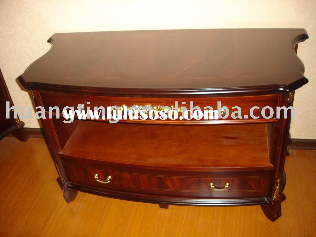 tv stand wood small