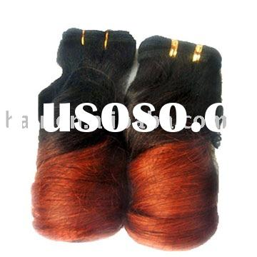 100%Human Hair Weave  Synthetic Fiber  Weave  100%Remy Hair/European Hair/Artificial Hair