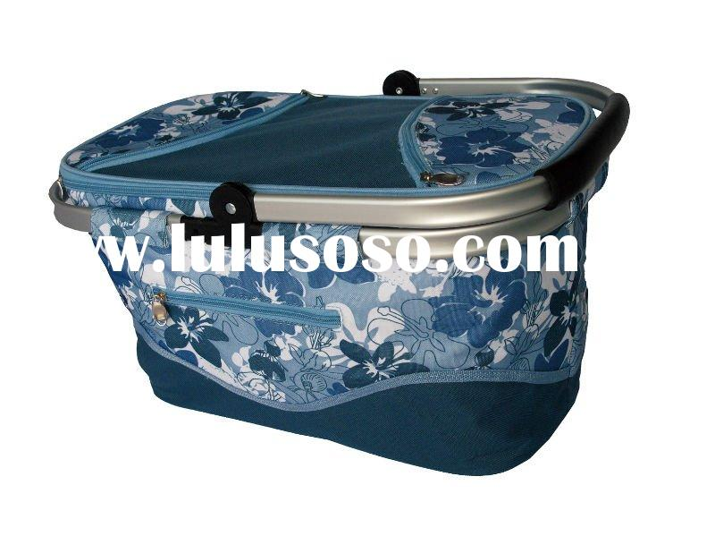 Cooler basket,cooler bag, thermal bag, picnic basket, insulated bag