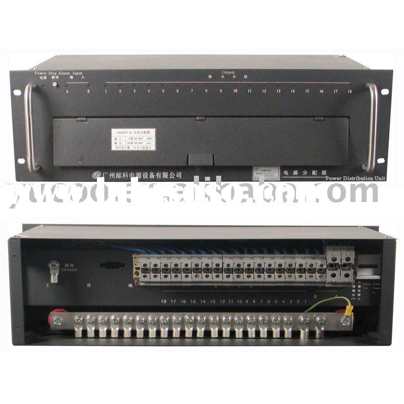 DC Power Distribution Panel 19inch Rack