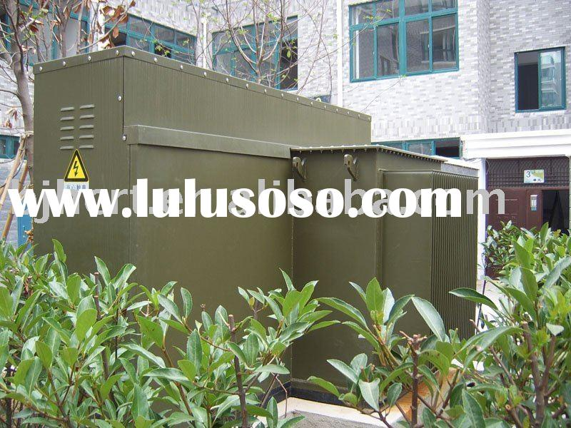 High voltage power combined transformer substation