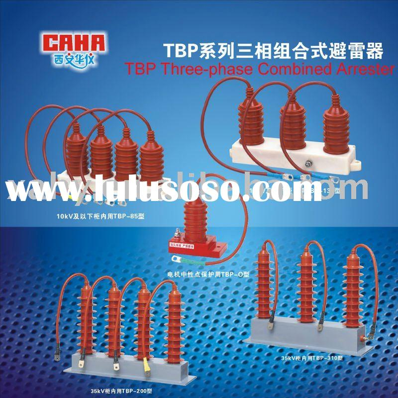 TBP Series Three-phase Combined over voltage protector, lightning protection,TVSS,apc surge arrest