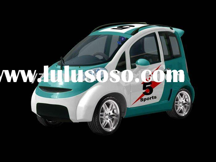 Tow doors sport car electric motor;double distribution control system
