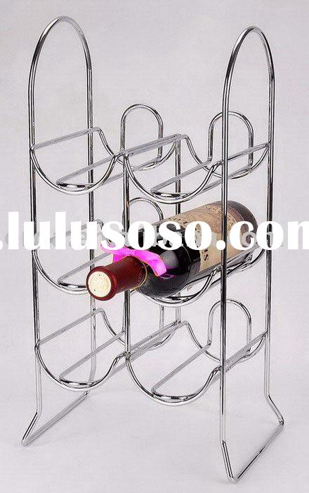 (table top-3-case) wine display rack