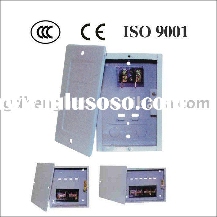 load center, metal enclosure, electrical box, distribution board