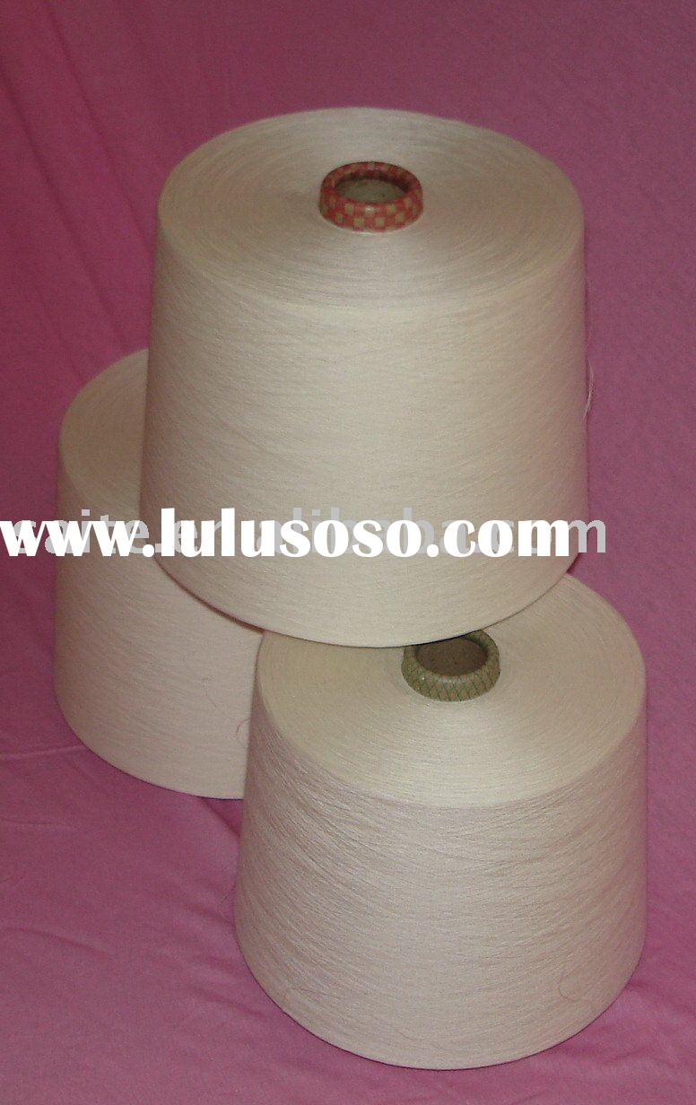 100%  Acrylic Yarn Raw White on Cone High Bulk