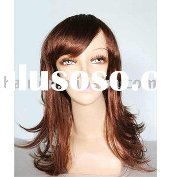 Curl hair ladies' wig  Fashion Short hair wig,   Straight short ladies' wig  synthet