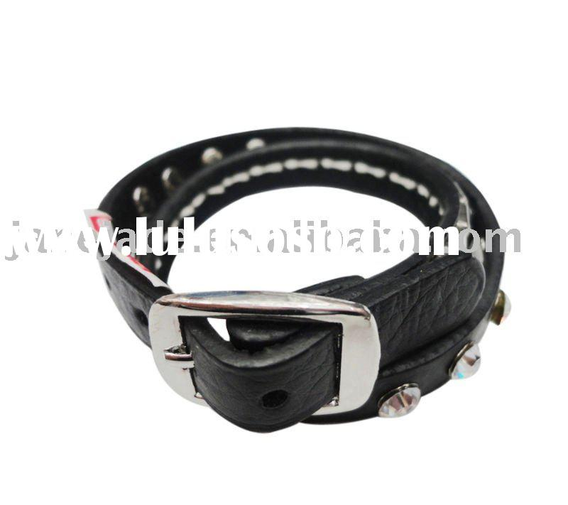 Fashion PU Bracelet,Leather Bangle