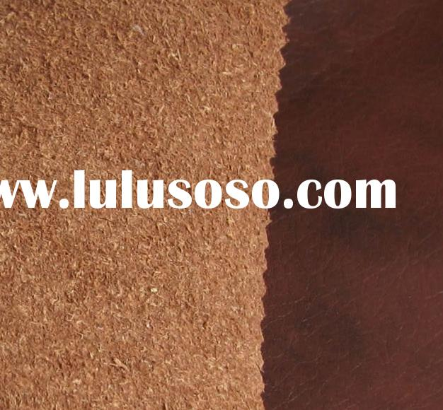 PU leather for sofa and furniture(with Genuine Leather Feel)