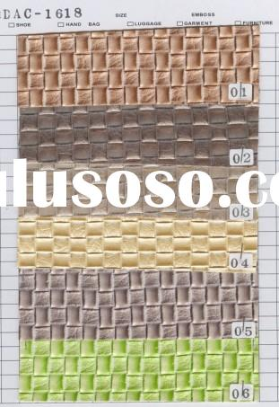 PVC  artificial leather for furniture material
