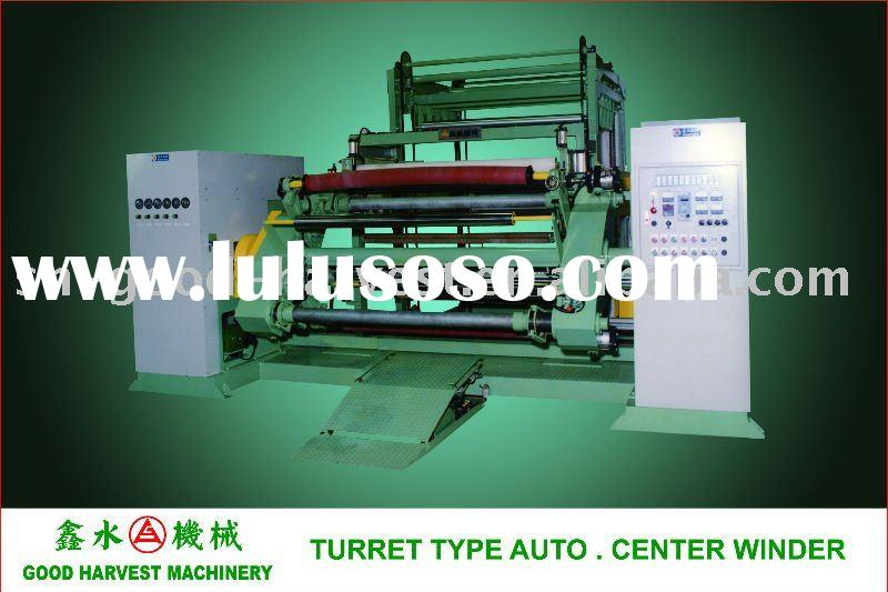 PVC film/sheet Turrent Type Auto. Center Winder machine
