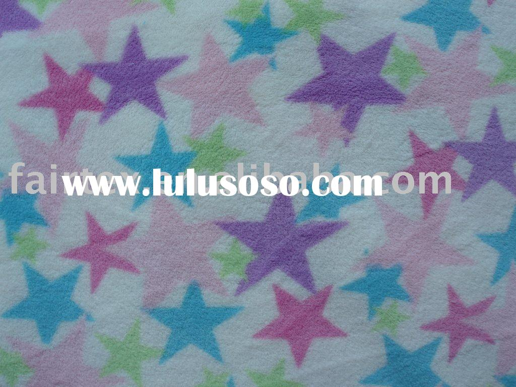 Printed Coral Fleece; Micro Fleece; Well soft Fleece; Blanket Fleece; Bathrobe Fabric
