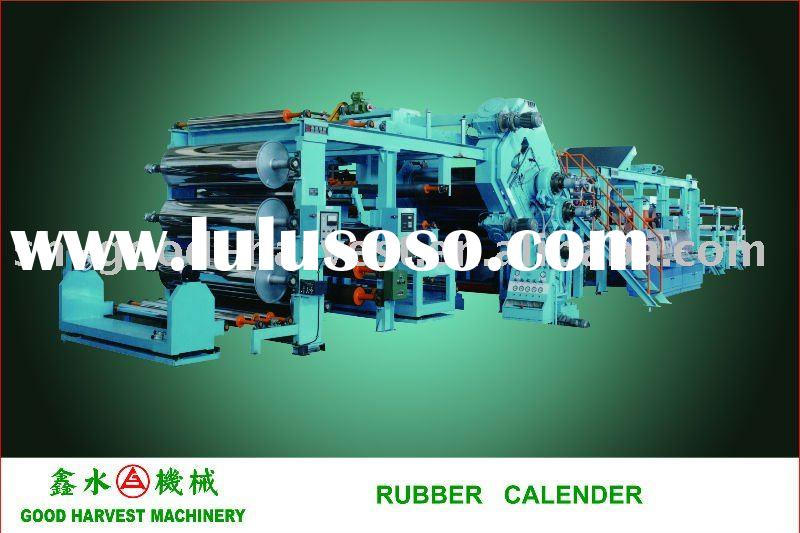 Rubber tires calender line